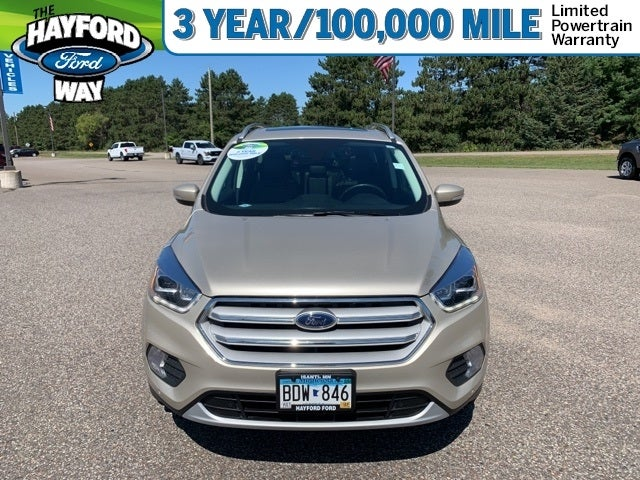 Used 2018 Ford Escape Titanium with VIN 1FMCU9J95JUC70575 for sale in Isanti, Minnesota