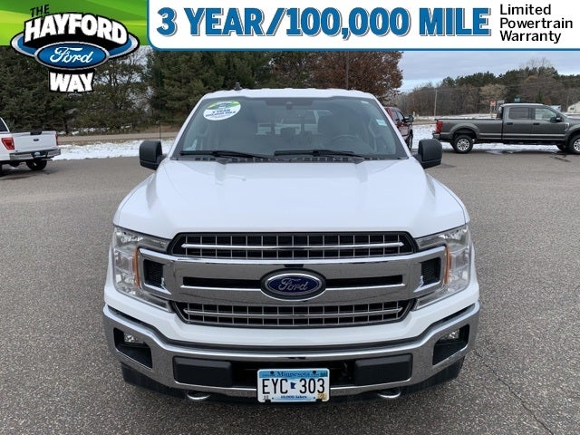 Used 2020 Ford F-150 XLT with VIN 1FTEW1E4XLKE19987 for sale in Isanti, Minnesota