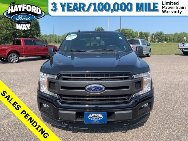 Used 2019 Ford F-150 XLT with VIN 1FTEW1EP7KFC06271 for sale in Isanti, Minnesota