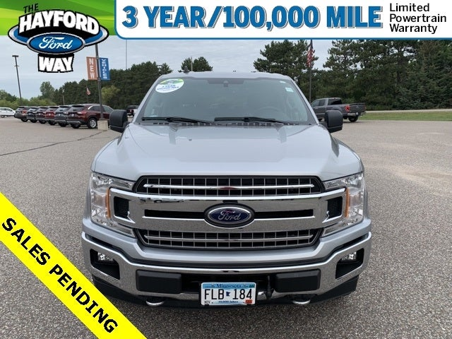 Used 2020 Ford F-150 XLT with VIN 1FTEW1EP7LKE19990 for sale in Isanti, Minnesota