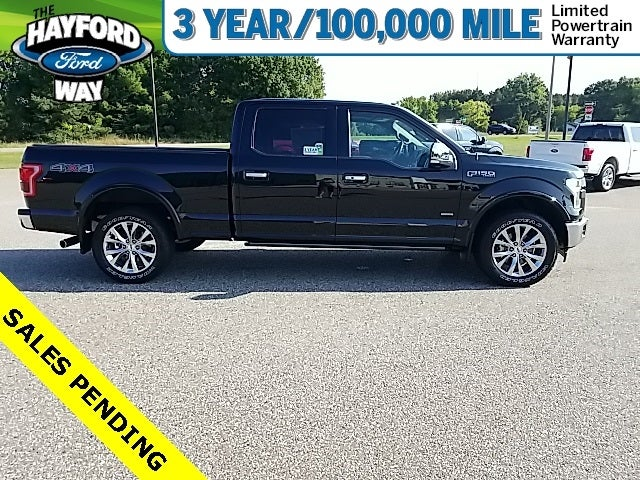 Used 2017 Ford F-150 Lariat with VIN 1FTFW1EG4HFA43110 for sale in Isanti, Minnesota