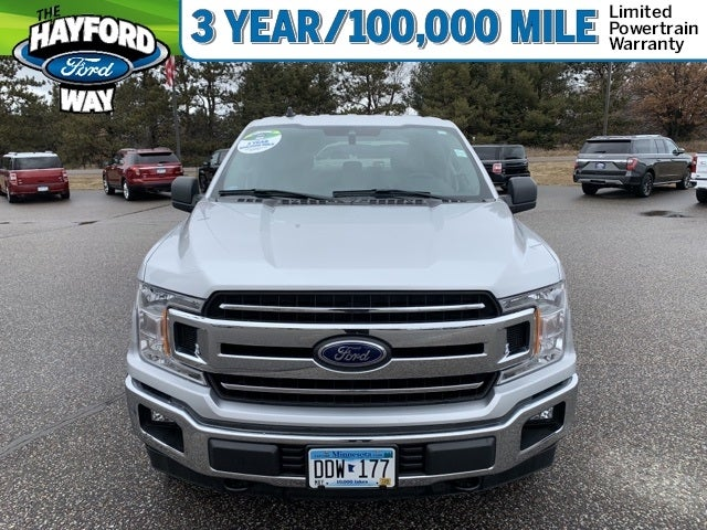 Used 2019 Ford F-150 XLT with VIN 1FTFX1E5XKKC23587 for sale in Isanti, Minnesota