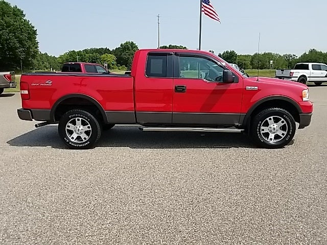 Used 2005 Ford F-150 FX4 with VIN 1FTPX14555NA37643 for sale in Isanti, Minnesota