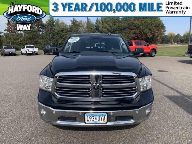 Used 2016 RAM Ram 1500 Pickup Big Horn with VIN 3C6RR7LT1GG276082 for sale in Isanti, Minnesota