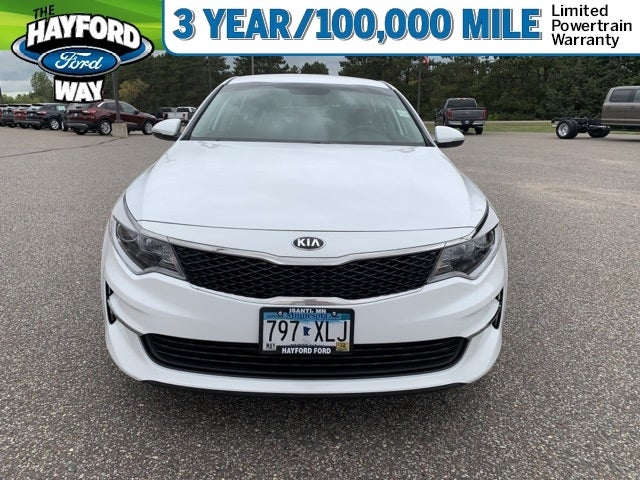 Used 2017 Kia Optima LX with VIN 5XXGT4L31HG139874 for sale in Isanti, Minnesota
